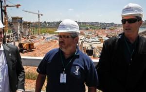 Itaquerão festeja aniversário com 38% das obras finalizadas