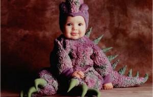 Fotos de bebês fantasiados