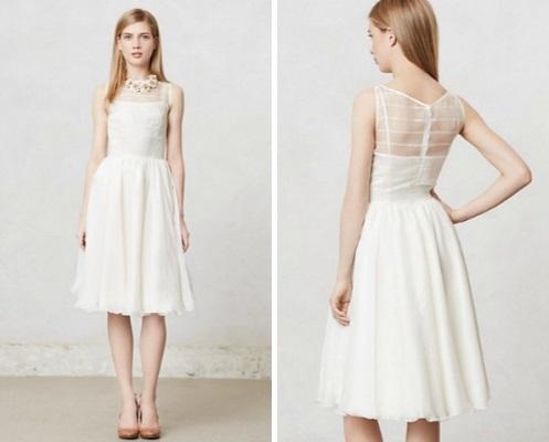 Vestidos de noiva simples para casamento civil