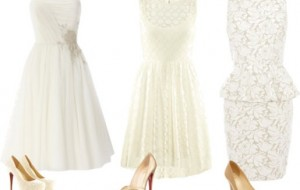 Vestidos de noiva para casamento civil: fotos