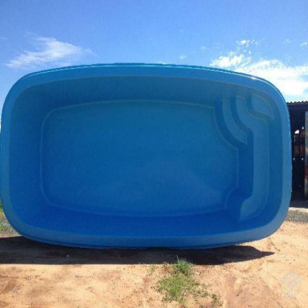 piscinas de fibra usadas