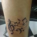 460797 Tatuagem de notas musicais 22 150x150 Tatuagem de notas musicais