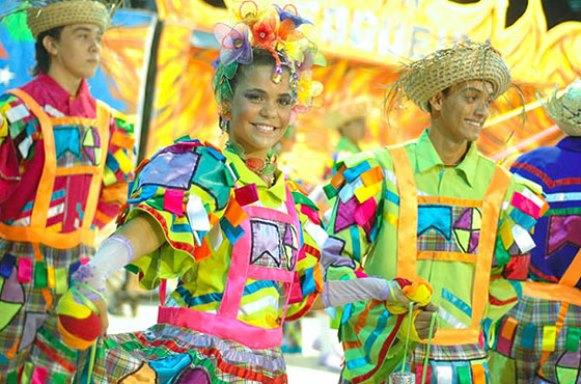 Vestido típico para festa junina. (Foto: Divulgação)