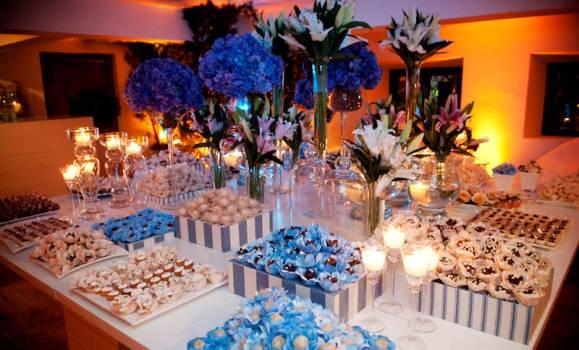 Decoração de casamento azul dicas, fotos