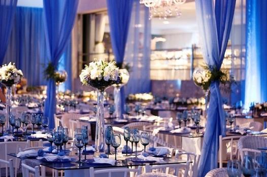 decoracao e casamento : decoracao e casamento:Decoração de casamento azul dicas, fotos 3