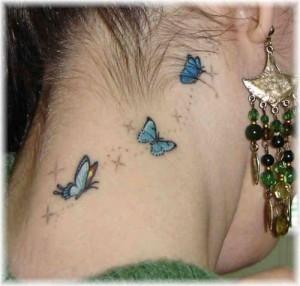As tatuagens feitas na nuca e no pescoço são muito sensuais. (Foto: divulgação)
