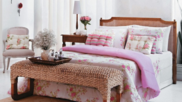 Casa com decoração romântica dicas, como fazer  ~ Quarto Romantico Como Fazer