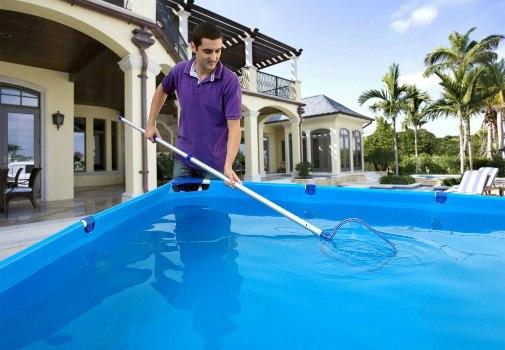 Limpeza da piscina dicas como fazer mundodastribos for Piscinas para armar