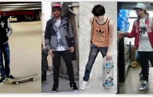 Estilo skatista: roupas, dicas