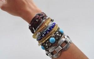 Mix de pulseiras: dicas, como usar
