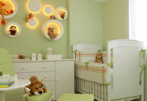 Iluminação para quarto de bebê dicas MundodasTribos  ~ Como Fazer Uma Luminaria Para Quarto