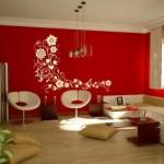470814 Decoração de Salas Com Parede Vermelha Dicas e Fotos 3 150x150 Decoração de salas com parede vermelha   dicas e fotos
