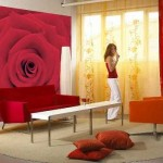 470814 Decoração de Salas Com Parede Vermelha Dicas e Fotos 4 150x150 Decoração de salas com parede vermelha   dicas e fotos