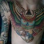 471257 Tatuagem de coruja 07 150x150 Tatuagem de coruja: fotos