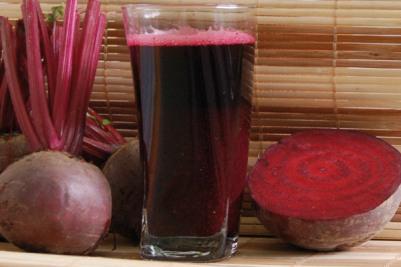 Suco de beterraba. (Foto: Divulgação)