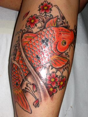 Tatuagem de carpa fotos for Carpas koi cuidados
