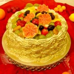 473875 Bolo decorado com frutas fotos 13 150x150 Bolo decorado com frutas: fotos