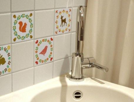 Adesivos para azulejos onde comprar mundodastribos for Comprar azulejos sueltos
