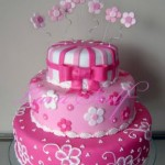 474674 Bolo rosa decorado fotos 05 150x150 Bolo rosa decorado: fotos