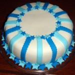 474758 Bolo azul decorado fotos 01 150x150 Bolo azul decorado: fotos