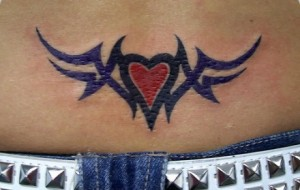 Tatuagem de coração: fotos
