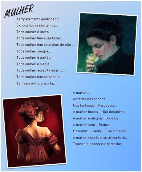 A mulher e seus encantos (Foto: divulgação)