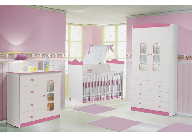 Quarto Infantil Para Bebe Feminino ~ De Bebe Feminino 150×150 Dicas Para Decorar Quarto Infantil Pequeno