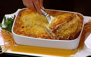 Lasanha de espaguete