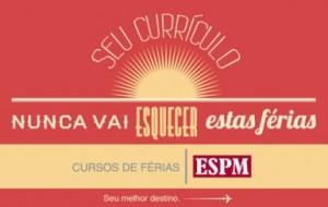 Cursos de férias ESPM RJ 2012