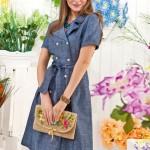 48080 vestido em jeans 150x150 Moda Evangélica 2012   Fotos, Tendências