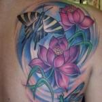 480951 Tatuagem de flor de lótus fotos 03 150x150 Tatuagem de flor de lótus: fotos