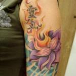 480951 Tatuagem de flor de lótus fotos 12 150x150 Tatuagem de flor de lótus: fotos