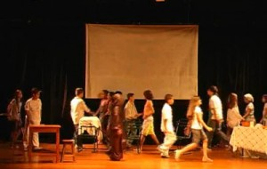 Sesi SP, Curso gratuito de teatro 2012
