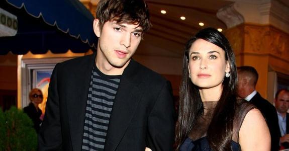 Ashton Kutcher e Demi Moore (Foto: Divulgação)