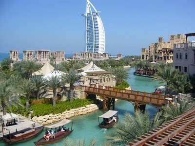 Vista parcial de Dubai (Foto: divulgação)