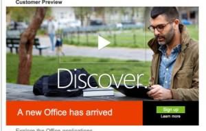 Pacote Office Microsoft 2013: novidades