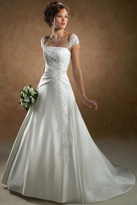 O que encarece um vestido de noiva é o trabalho manual; aplicação de pedras e bordados. (Foto: divulgação)