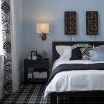 490889 Luminárias embutidas na parede são boas opções. 150x150 Decoração de quarto de casal pequeno, fotos