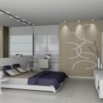 490889 TV de LCD e LED são modernas e economizam espaço. 150x150 Decoração de quarto de casal pequeno, fotos