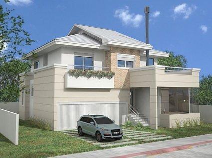 Planta residencial 3d projeto de casas for Casas 3d