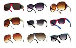 Lojas virtuais de óculos de sol