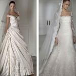 494054 Vestido de noiva romântico 05 150x150 Vestido de noiva romântico: fotos
