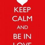 497261 Mantenha a calma e se apaixone. 150x150 Melhores imagens Keep Calm para Facebook