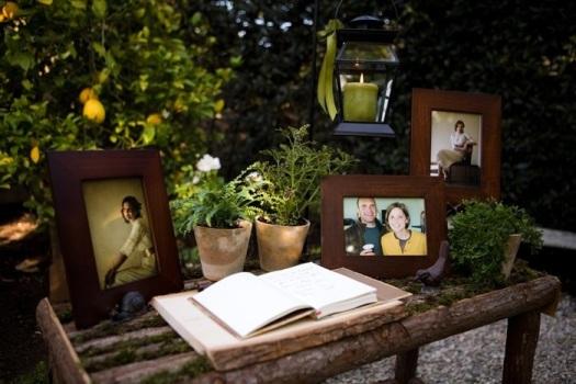 decoracao festa rustica:Objetos que trazem boas recordações para os noivos. (Foto
