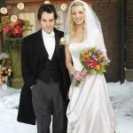 499709 Lisa Kudrow usou um lindo modelo em um dos episódios de Friends. 150x150 Vestidos de noiva dos filmes: fotos