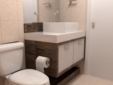 Gabinetes para banheiros modelos e fotos for Gabinete para lavabo