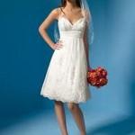 506699 Os modelos mais curtos também caem muito bem para as noivas baixinhas Fotodivulgação. 150x150 Vestido de noiva para baixinhas: como escolher