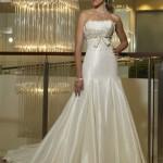 506699 Os tomara que caia também podem ser usados por noivas baixinhas Fotodivulgação. 150x150 Vestido de noiva para baixinhas: como escolher