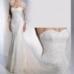506699 Os vestidos com manga também são ótimas opções de escolha Fotodivulgação. 150x150 Vestido de noiva para baixinhas: como escolher