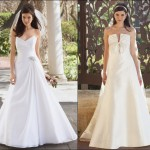506699 Os vestidos de noiva com decotes em V são os mais indicados para as baixinhas Fotodivulgação. 150x150 Vestido de noiva para baixinhas: como escolher